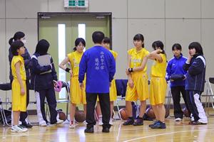 中学バスケットボール部