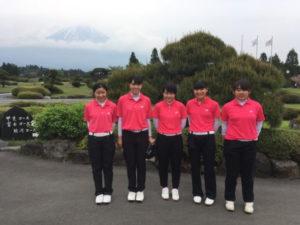 関東大会出場決定【ゴルフ】