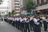 柏まつりオープニングパレードに出演しました【吹奏楽部】