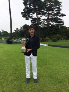 ジュニア選手権優勝【ゴルフ】