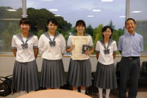 2017 Junior High School and High School English Speech Contests
