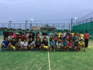 ソフトテニス部活動報告