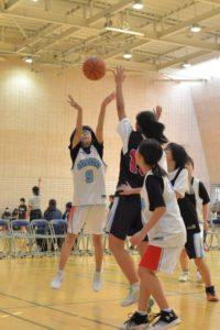 女子バスケットボール部活動報告(中学校)