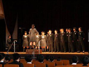音楽発表会(中学)