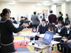 中学生 海外語学研修報告会