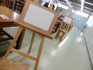 市民対象学校開放講座 -静物デッサン入門-