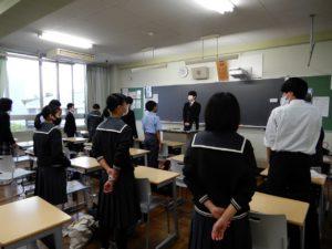 西武台千葉中学高校新生徒会 顔合わせ