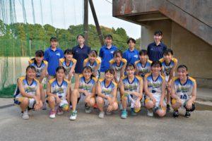 女子バスケットボール部(2020年度)