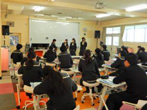 中学2年生 reading show開催