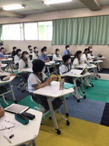 【中】中学1年生★美術校内学習